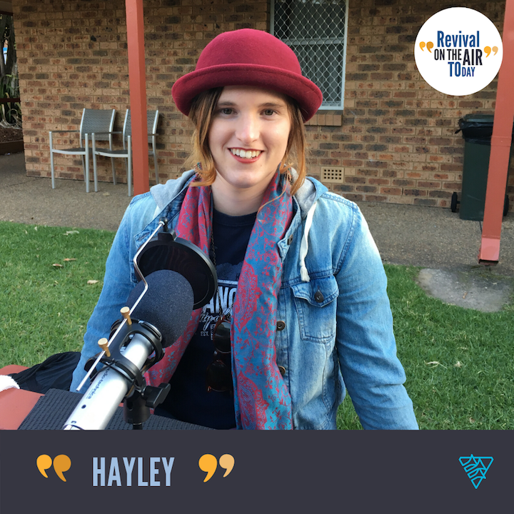 Hayley tells of the Importance of the Family of God